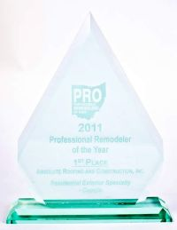 2011 Proefessional remodeler of the Year 1st place-Residential Exterior Specialty - Copula.jpg